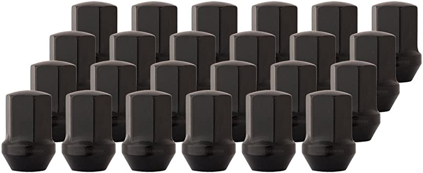 ZENITHIKE 32 pcs Chrome Wheel Lug Nuts 14x2 3//4 Drive Open End Fits for Ford Expedition//F-150 Lincoln Mark LT//Navigator 2003-2011