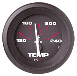 Sierra International 57904P 120-240 Fahrenheit Amega Temperature Gauge Kit