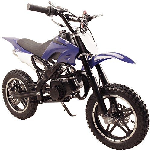 Westcoastpapa 49CC 2 STROKE GAS MOTOR DIRT MINI POCKET BIKE BLUE I DB50X