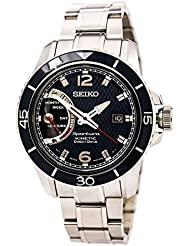 Seiko Sportura Kinetic Direct Drive Stainless Steel Mens watch #SRG017