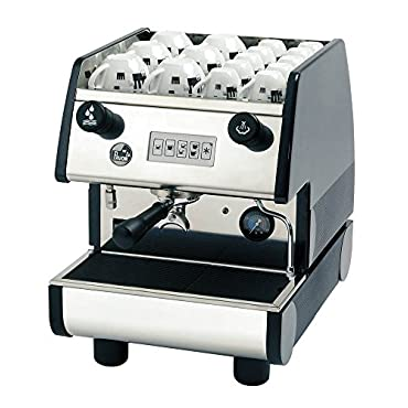 La Pavoni PUB 1V-R 1 Group Commercial Espresso Cappuccino machine, Red