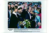 Vintage photo of Princess Madeleine, Queen Silvia, King Carl XVI Gustaf and Princess Lillian at the celebration of Sweden's national day at Skansen