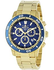 Invicta Mens 1205 II Collection 18k Gold-Plated Watch