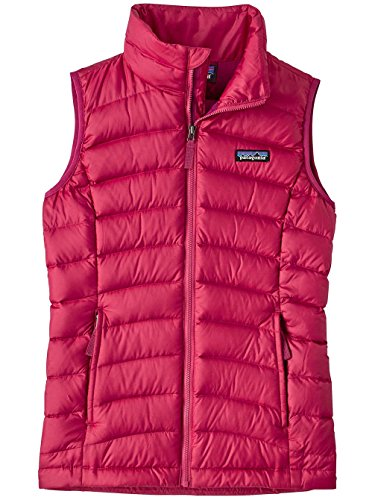 Patagonia Girls Down Sweater Vest Craft Pink Girls XL by Patagonia