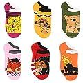 Disney The Lion King Boy's Girl's Toddler Teen Adult's Multi pack Socks Set