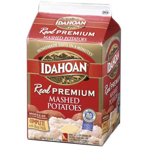 Idahoan Real Premium Mashed Potatoes