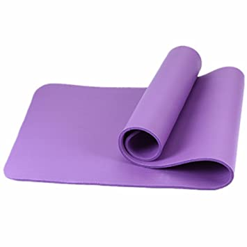 GTVERNH esterilla de yoga de 10 mm de grosor de largo-ups ...