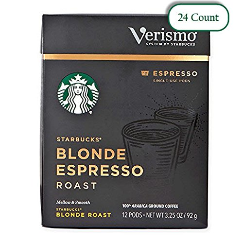 Starbucks Blonde Espresso Roast Espresso Verismo Pods (Pack of 2)