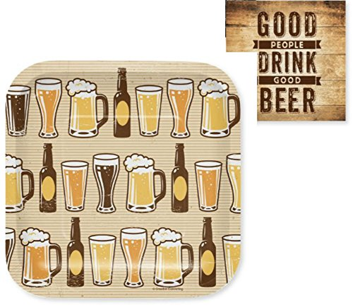 - Beer and Cheer Party Pack (48 Pieces)
