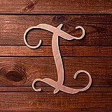 UNFINISHEDWOODCO Wooden Letter Monogram Room Décor