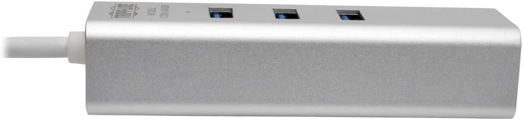 4 Ports USB 3.0 HUB Color : Black White LTOnlineStore Support 1TB Crack Speed 5Gbps Plug and Play