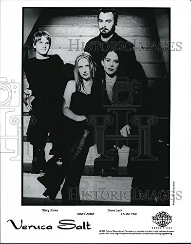 1997 Press Photo Stacy Jones Nina Gordon Steve Lack Louise Post of Veruca Salt