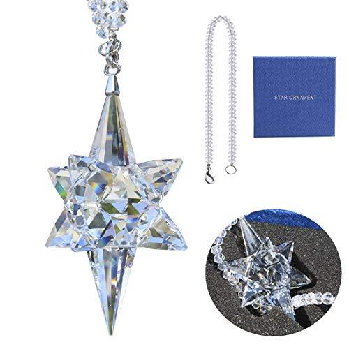 Star Suncatcher - Qf Special Edition Crystal Suncatcher, Glass Pendant, Star, Crystal Ornament, Clear