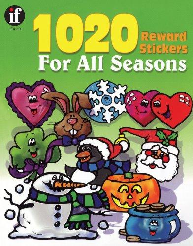(1020 Reward Stickers For All Seasons, Grades PK - 6)