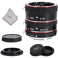 INSEESI Lens Extender Auto Focus Close up Macro Extension Tube for Canon EOS Cameras Rebel t6, t6i, 80d, t7i, 5d mark iv,6d mark ii