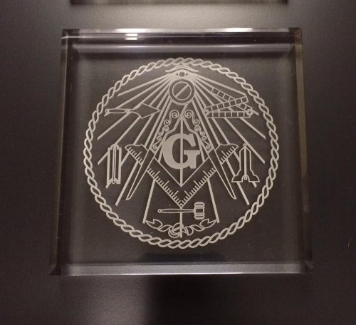 Paperweights Acrylic Paperweight (Acrylic Masonic Paperweight(WT))