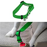 Oucan 1 Packs Adjustable Pet Dog Cat Car Seat Belt Safety Leads Vehicle Seatbelt Harness
