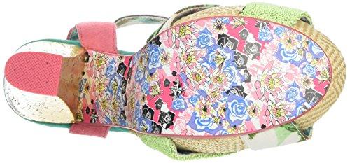 Irregular Choice Damen shoop Sandalen Pink (Pink Multi)