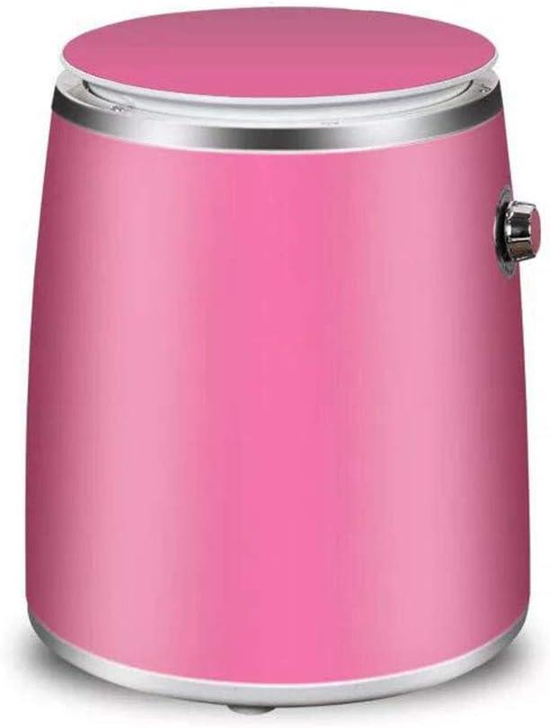 Lavadora Portatil,Mini Lavadora,de 4,5 KG / 6,5 KG de Capacidad Total Combinada y Secadora Bajo Consumo silencioso Combo Compacta Lavadora Pequeña,para Dormitorios de Camping Apartamentos,Pink