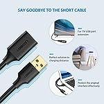 UGREEN-Cavo-Prolunga-USB-30-Maschio-A-Femmina-A-5Gbps-Cavo-Estensione-USB-Placcato-Oro-per-Chiavetta-USB-2m