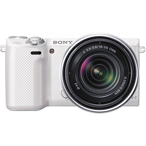 sony-nex-5rk-w-alpha-digital-camera-w-sel-1855-18-55mm-lens-16mp-wi-fi-white
