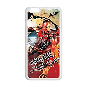 Happy Michael Jordan ahionable And Popular Back Case Cover For Iphone 6 Plus