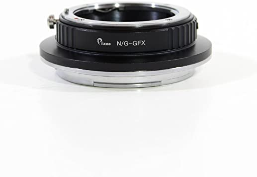Pixco Pro Lens Adapter Suit for Canon EOS EF Mount Lens to Fujifilm G-Mount GFX Mirrorless Digital Camera Such as GFX 50S