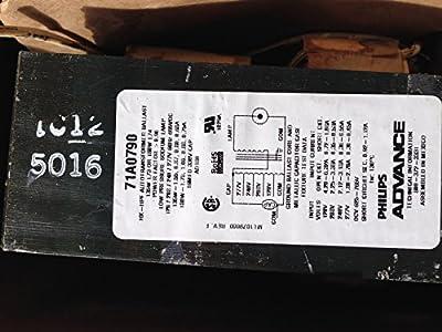 Advance 71A0790-510D Sox-180/135 Multi Tap Ballast For 135W L73 or 180W L74
