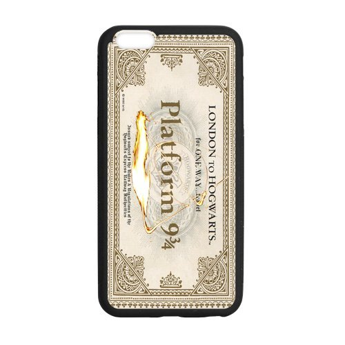 Harry Potter Design Durable Rubber Silicone Materiale Case Cover for iPhone plus 5.5