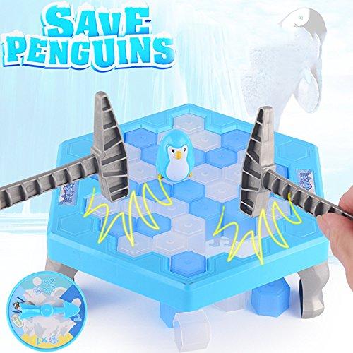 クラッシュアイスゲーム 、トラップゲーム氷破裂ペンギンおもちゃ 家族や友達と一緒に楽しむゲーム パーティ 祝日 クリスマス お正月 元旦 新年 七五三 誕生日 プレゼント 盛り上がる アイスゲーム