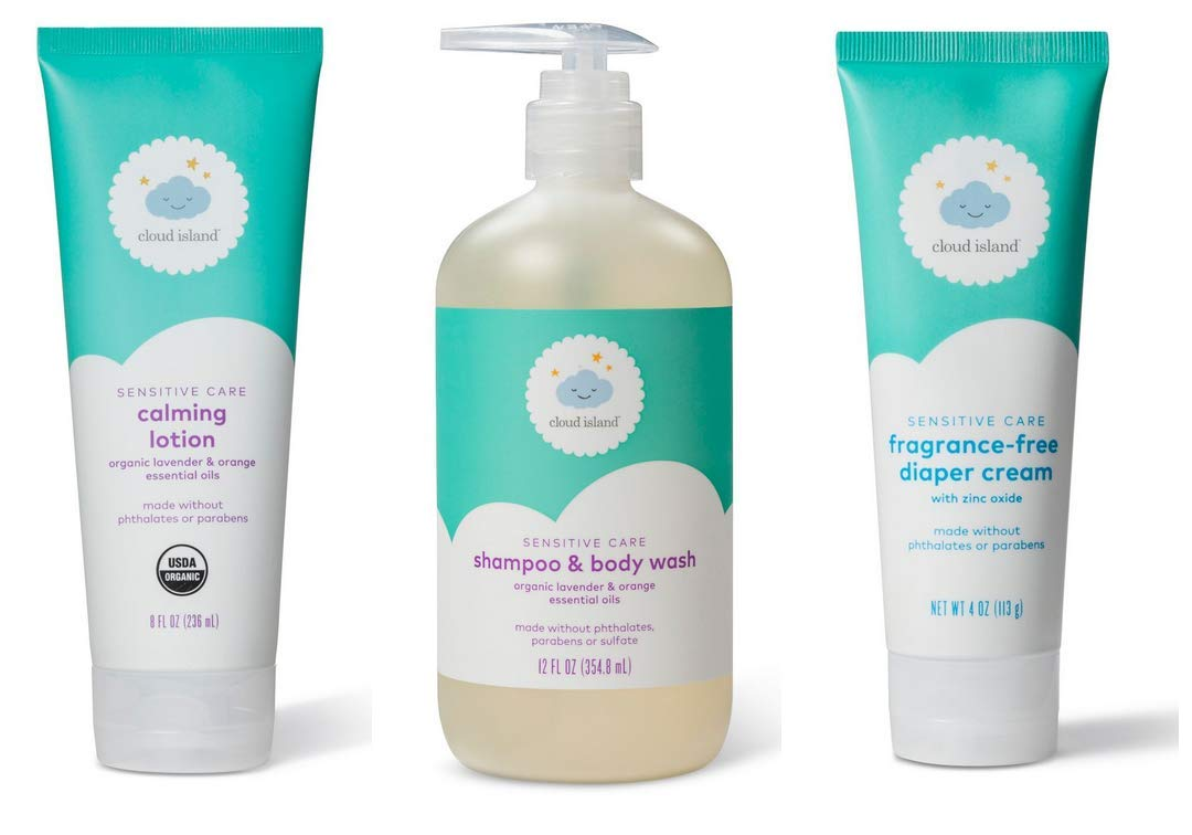 Sensitive Care for Babies Calming Lotion, Shampoo& Body Wash, Diaper Cream - ALL VEGAN by dealportal