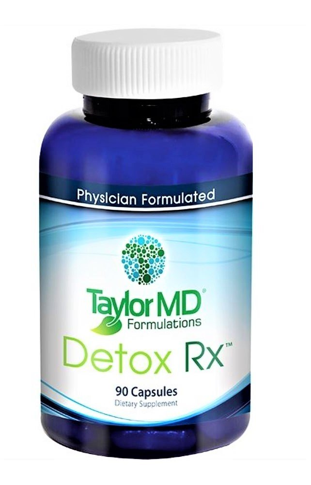 Detox Rx – Healthy Anti-inflammatory, Detoxification Supplement, Hormone & Liver Support, Weight Management Supplement - Physician Formulated Clinically Tested – Best for Men & Women Health Management with No Side Effects - Guaranteed By Taylor MD For