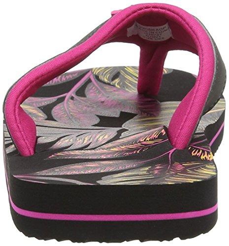 Animal Swish Aop, Sandalias para Mujer Rosa (Hot Pink)