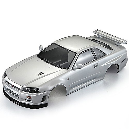 - Goolsky KillerBody 48644 257mm NISSAN SKYLINE (R34) Finished Body Shell Frame for 1/10 Electric Touring RC Racing Car DIY
