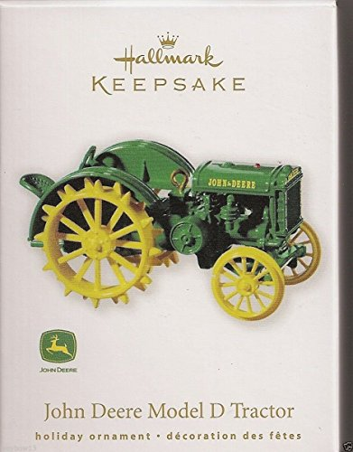 Hallmark Keepsake Ornament 2010 John Deere Model D Tractor QXI2003