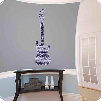 Etiqueta de la pared Música Decoración de pared Hombre simple ...