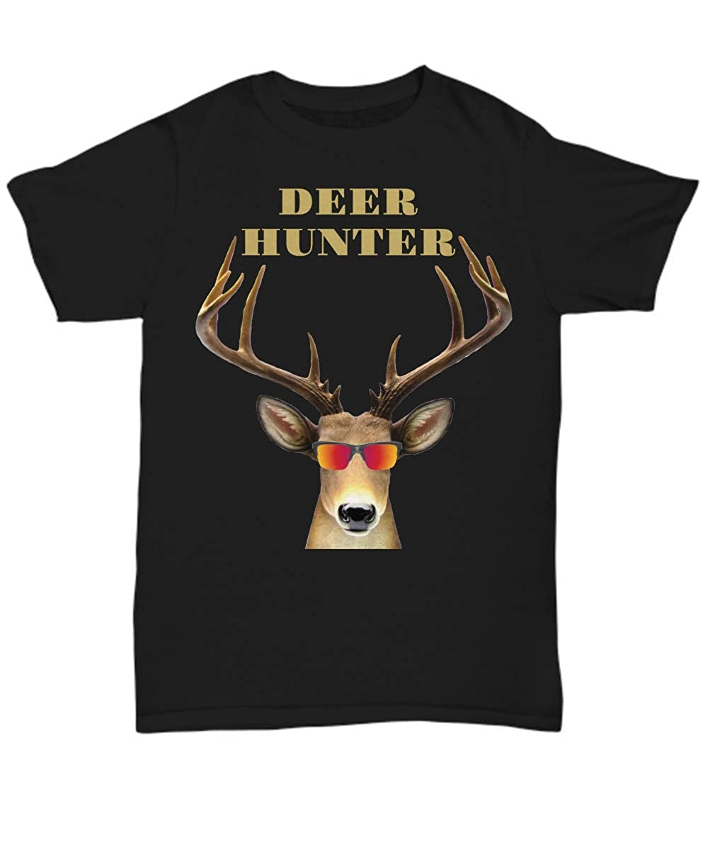 Unisex Tee Deer Hunter Gag Gifts Cool