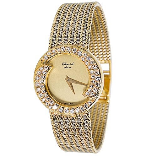 chopard-diamond-bezel-s-10-2867-ladies-watch-in-18k-yellow-gold-certified-pre-owned