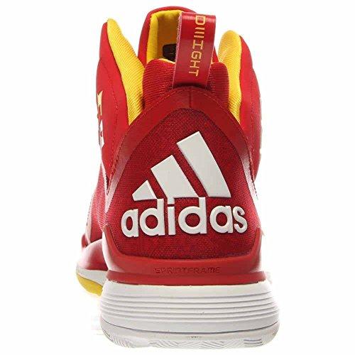 Adidas Mænds D Howard 5 Basketball Sko Lys Scarlet / Hvid / Sol Ce7sGQfls