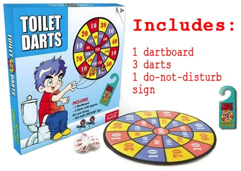 Buy Funny Gag Gift Dart Game For Bathroom Online At Low Prices In