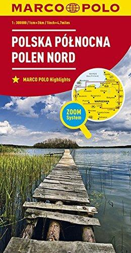 MARCO POLO Karte Polen Nord 1:300 000 (MARCO POLO Karten 1:300.000)