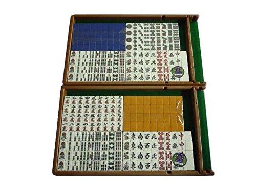 アモスギャバン専用麻雀牌 青色・黄色 1セット 全自動麻雀卓用マージャンパイ