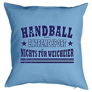 Cooles Kissen Handball - Geschenk Sportler : Handball Extreme Sport .. -...