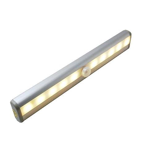 fvtled automática de luces LED (con detector de movimiento, Wireless Sensor magnético rayas,