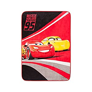 Cars Red Throw Blanket (46″x60″)