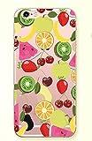 iPhone 6 Plus/6S Plus Case,Blingy's New Creative Fruit Style Flexible Soft Transparent Clear Rubber TPU Case for iPhone 6 Plus/6S Plus (Fruit Cocktail)