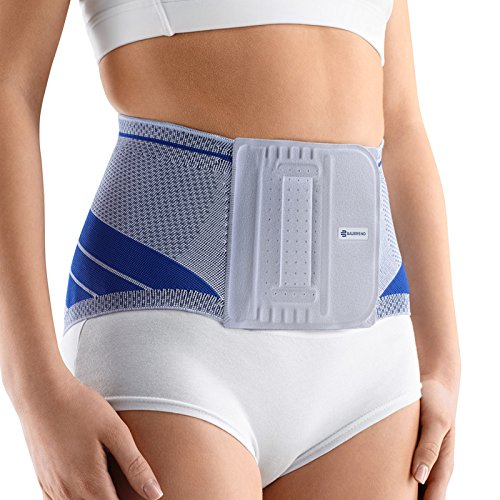 Bauerfeind LumboTrain Lady Back Support - Lumbar Back Brace - Stabilization and Pain Relief for The Spine - Size 1