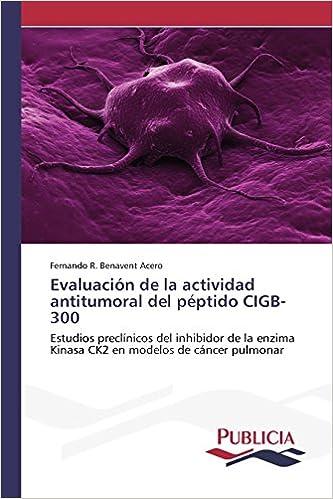 Evaluación de la actividad antitumoral del péptido CIGB-300: Amazon ...