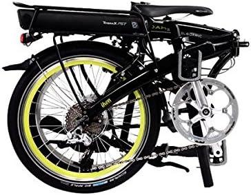 Dahon bicicleta plegable Ikon Electric 20zoll/8gang/Ebike/TranzX ...