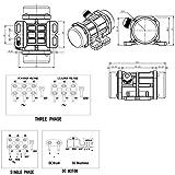 Concrete Vibrator Motor AC 110V 100W Single Phase